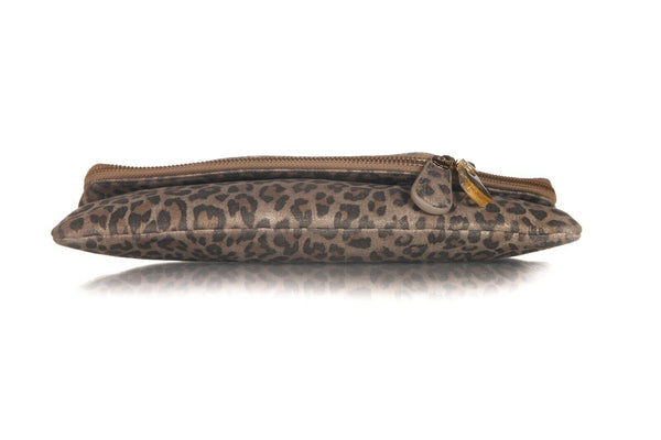 HENRI BENDEL Leopard Flap Envelope Bag