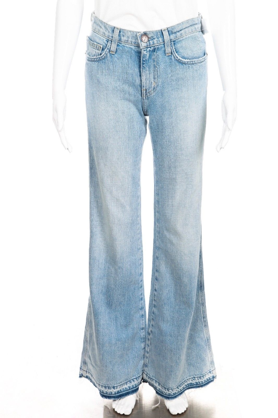 CURRENT/ELLIOTT Girl Crush Frayed Bell Bottom Jeans Size 24 (New)