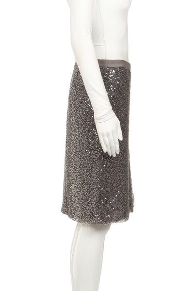J.CREW Sequin Embellished Pencil Skirt Size 6