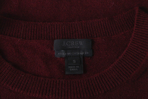 J.CREW Collection 100% Italian Cashmere Sweater Top Size S