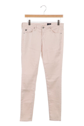 Pale Pink stretch Pants Size 28