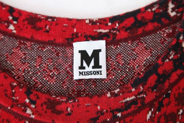 M MISSONI Knit Drop Waist Dress Size IT42 / 6