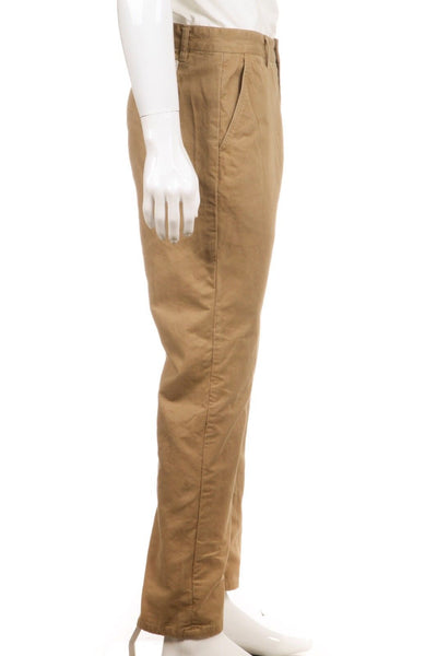OBEY Classique Tan Khaki Casual Chino Pants Size 33