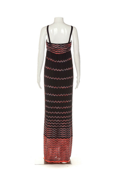 M MISSONI Maxi Sleeveless Knit Dress Size IT40 / 4