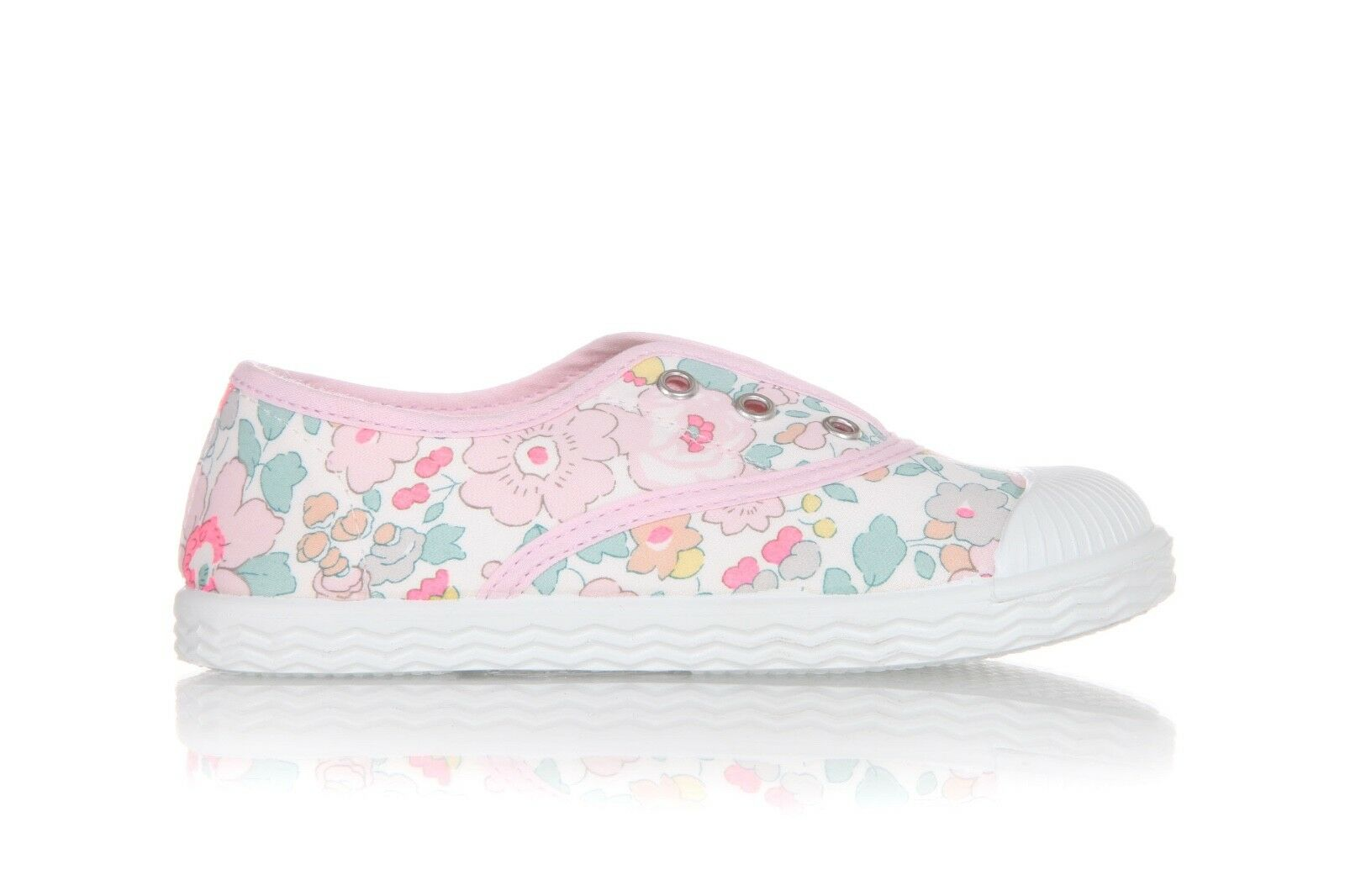 JACADI Floral Sneakers Size 26 (9.5) New