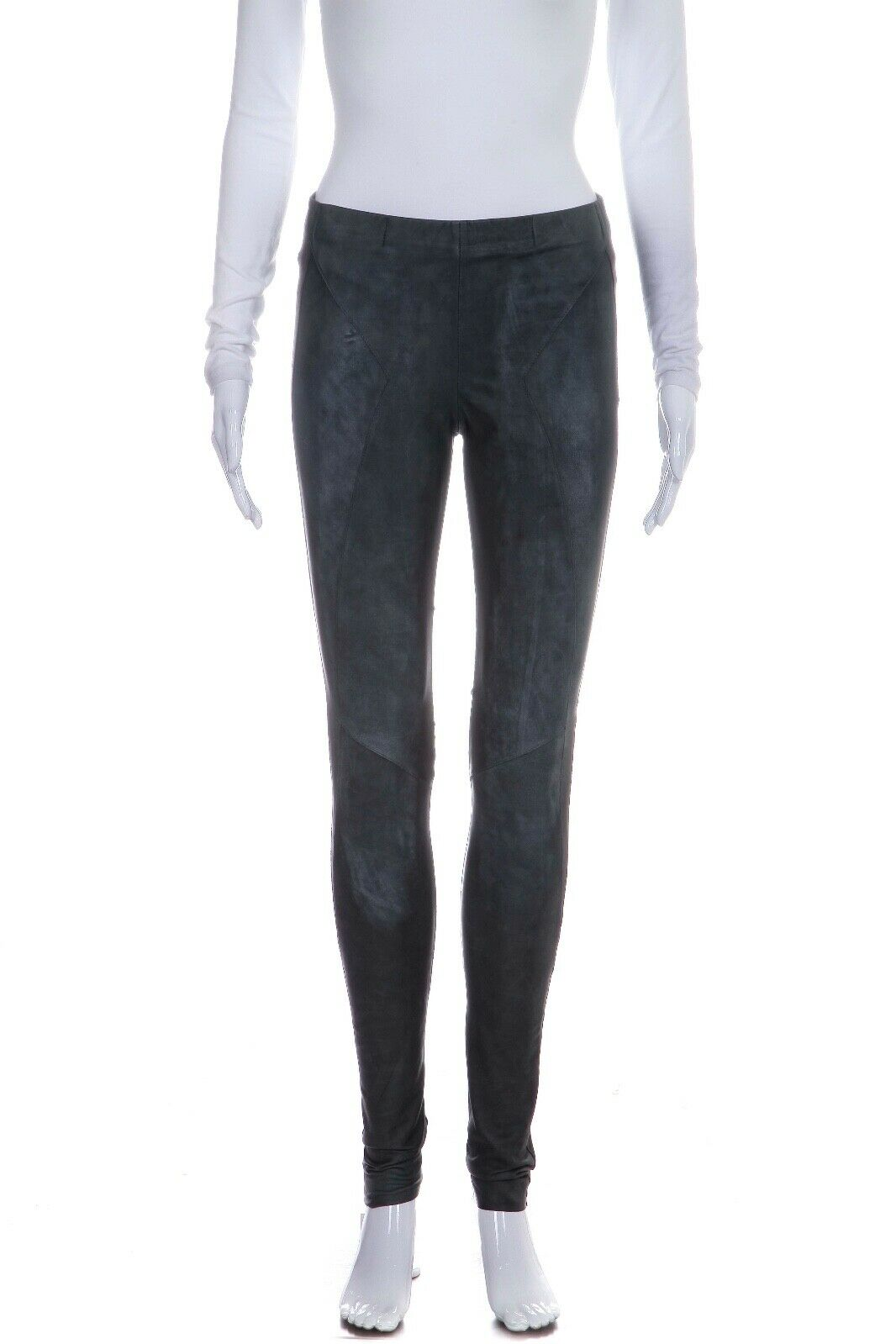 MONARCH 1 Tapered Leather Blend Legging Pants Size S (New)