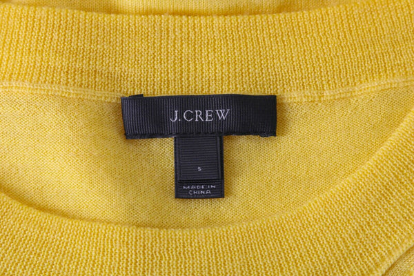 J.CREW 100% Merino Wool Sweater Top Size S