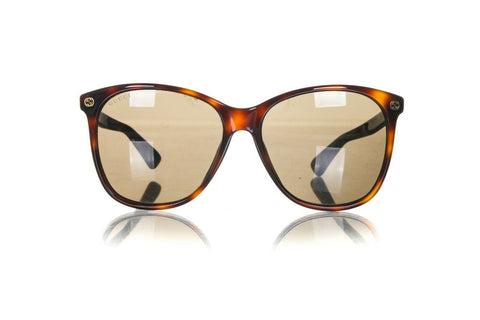 GUCCI Oversized Cat Eye GG 024S Sunglasses