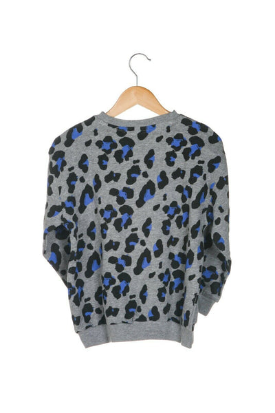 JOAH LOVE Bowie Cheetah Sweater - back view