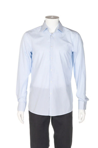 HUGO BOSS Striped Sharp-Fit Dress Shirt