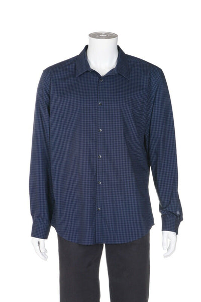 CALVIN KLEIN Non-Iron Gingham Slim Fit Shirt