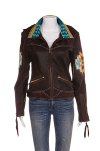 KIYOTE OF BIG SUR Leather Jacket Size M (New)