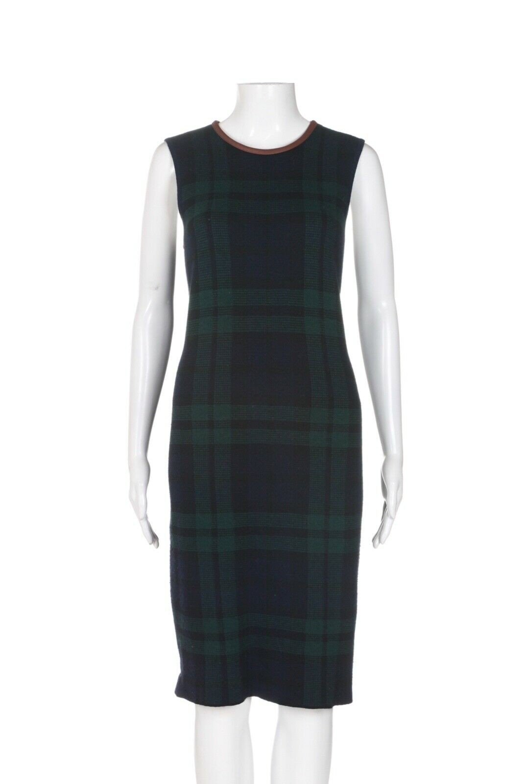LAUREN RALPH LAUREN Blackwatch Tartan Plaid Dress