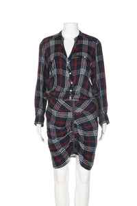 Veronica Beard Plaid Karen Dress