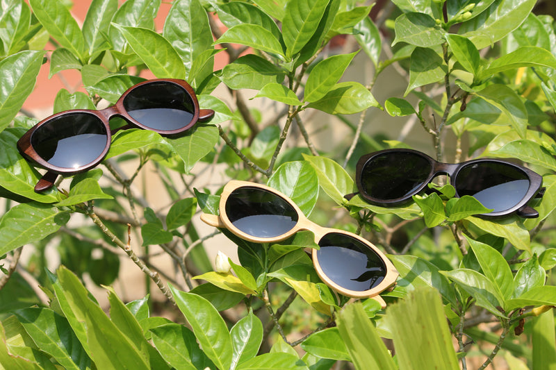 Buy Bamboo Sunglasses; Sew Seeds of Change For Others