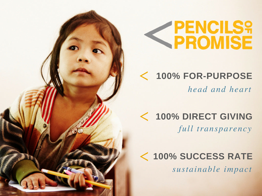 WearPanda is proud to support Pencils of Promise