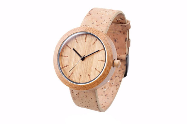 Wooden Watch made from Bamboo and Sustainable Materials - the Naturalist product image