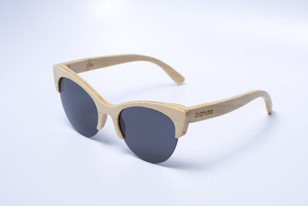 Eco-Friendly Bamboo Sunglasses - Rita Natural product image