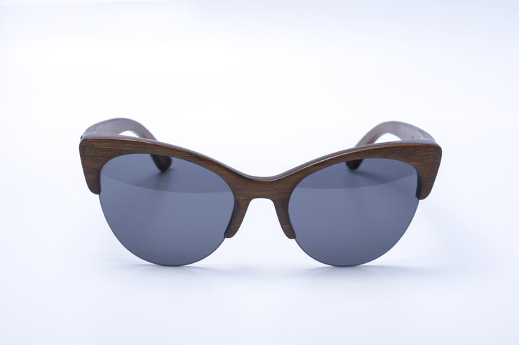 Panda Rita bamboo sunglasses - brown