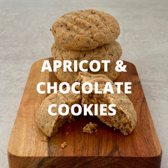 Gluten free Apricot and Chocolate Biscuit Recipe