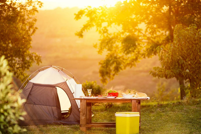 Five top tips for finding the perfect camping pitch - A guest blog from The Two Thirsty Gardeners