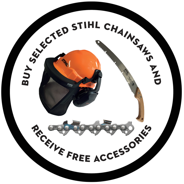 Free Chainsaw Accessories worth £94