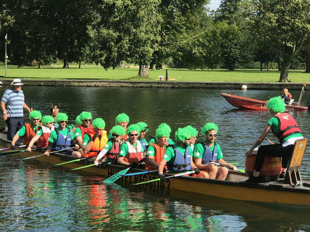 Surrey Young Carers Dragon Boat Race