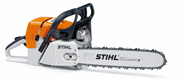 STIHL developed the world's first catalytic converter for two-stroke engines in 1988.