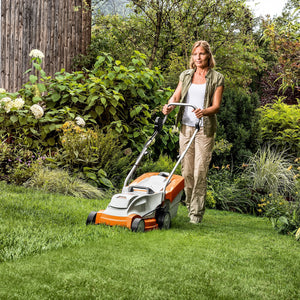 Lawn Care Bundle: RMA 235 Cordless Lawn Mower & FSA 56 Grass Trimmer