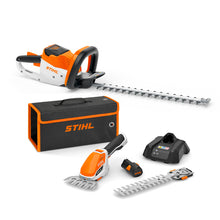 Load image into Gallery viewer, Hedge Care Bundle: HSA 56 Cordless Hedge Trimmer & HSA 26 Shrub Shears