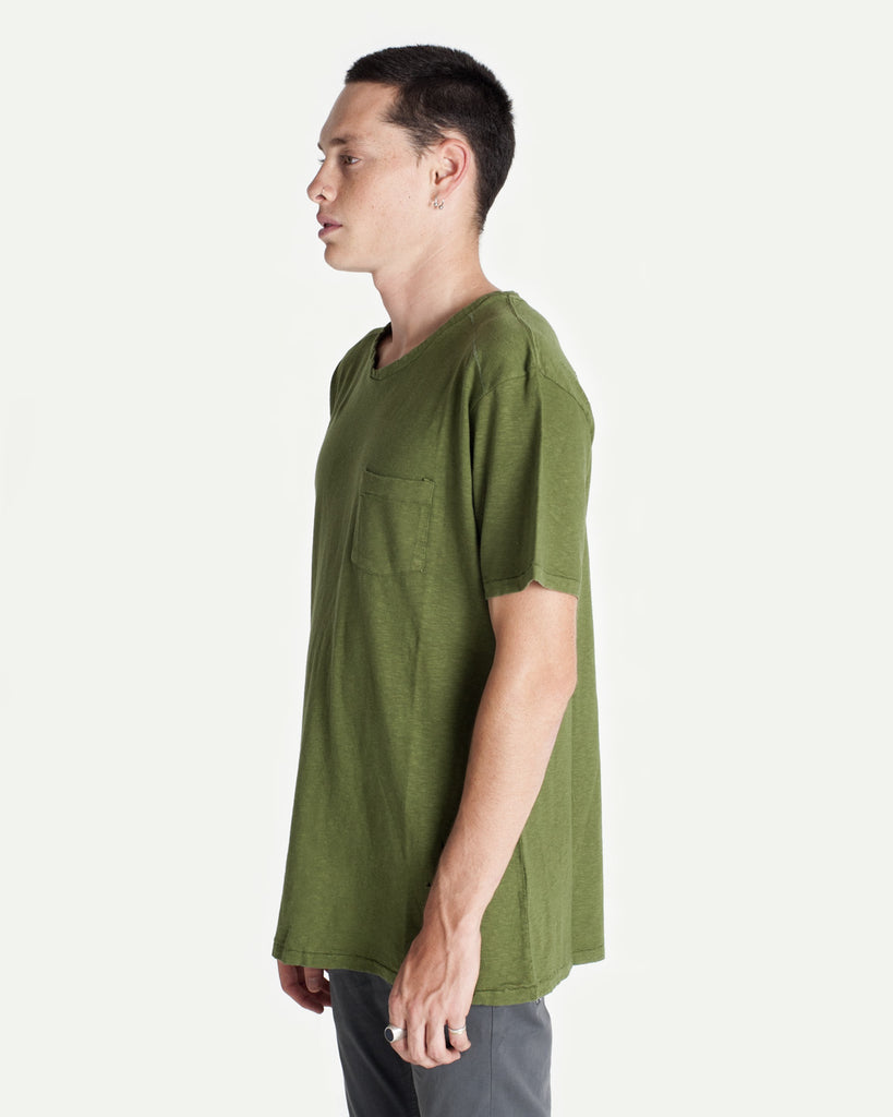 Cut & Sew Tee - Green