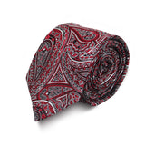 Red Brocade Tie