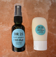 DR 25 Grandma's Special #1  (1 DR 25 Rub and 1 DR 25 Lotion)