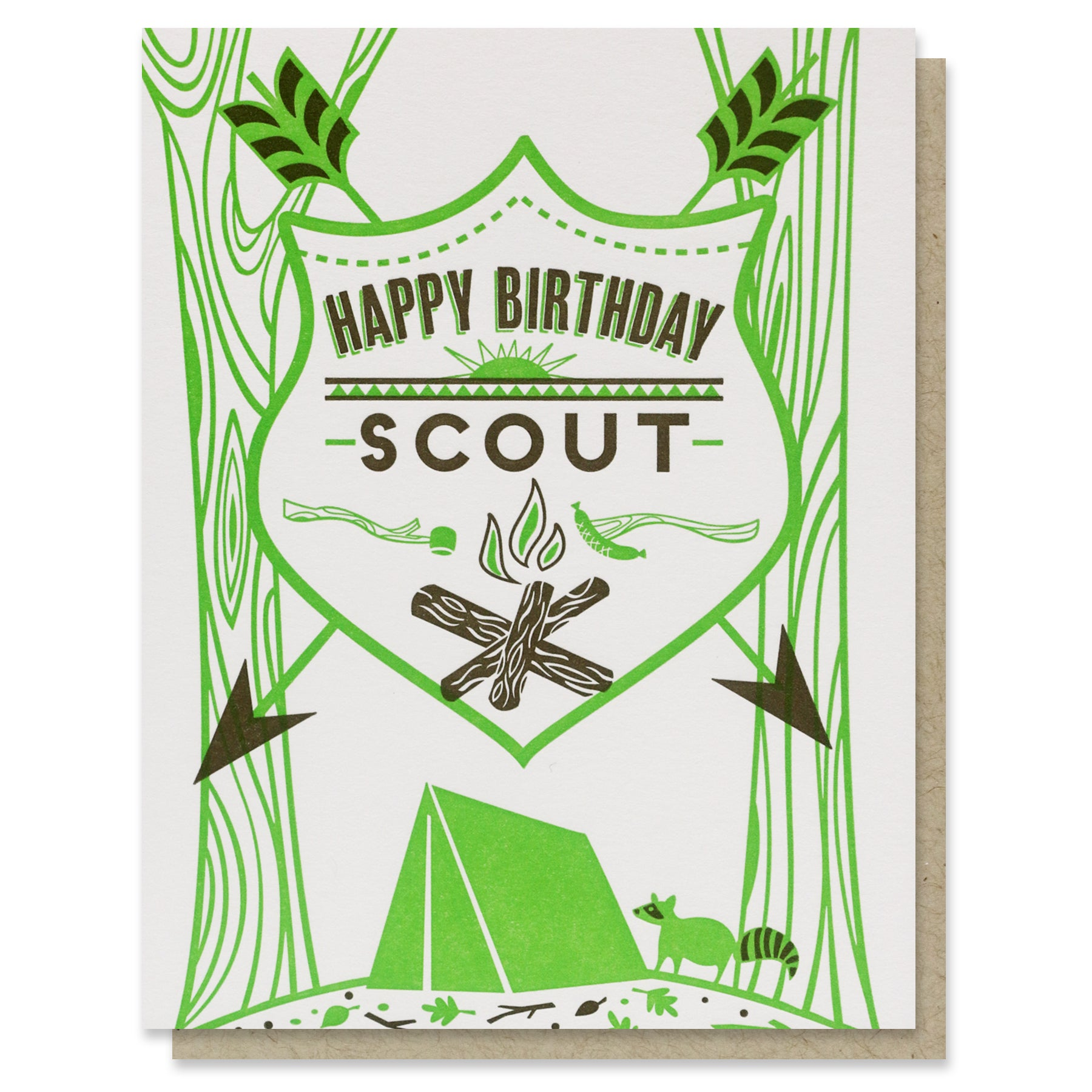 Scout Birthday Card