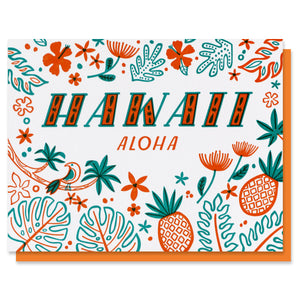 Hawaii Love Card - SALE