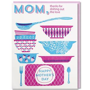 Dishing Out the Love Mother's Day Card