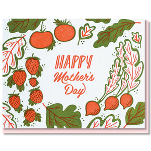 Garden Greens Mother's Day Card