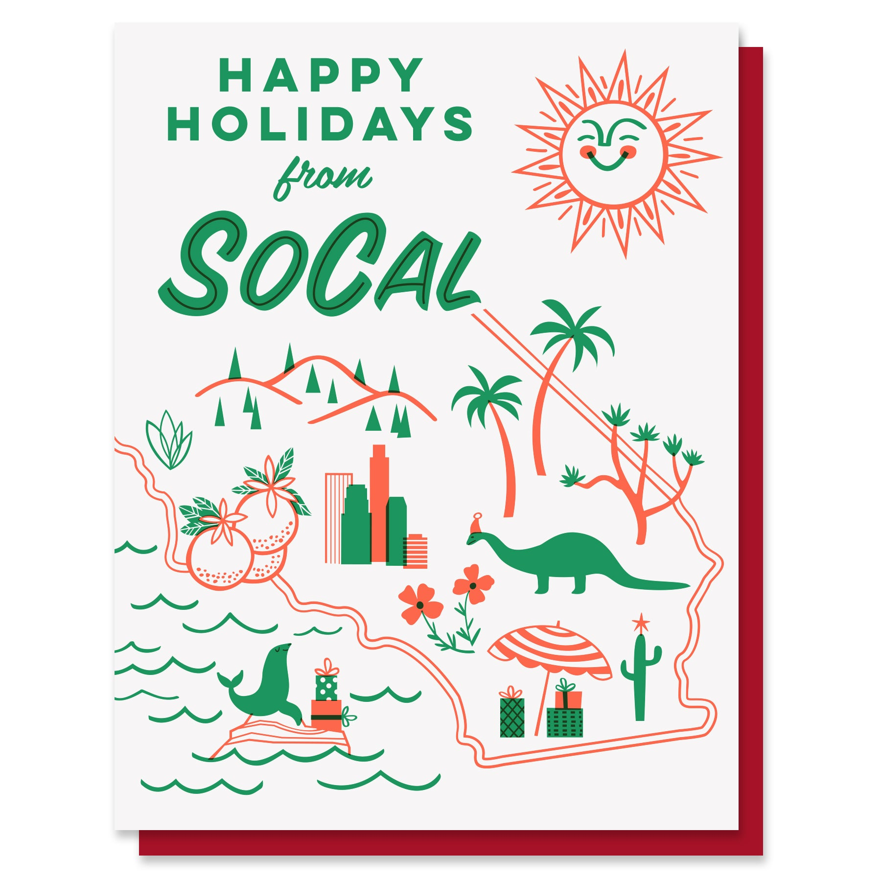 Happy Holidays from SoCal Card