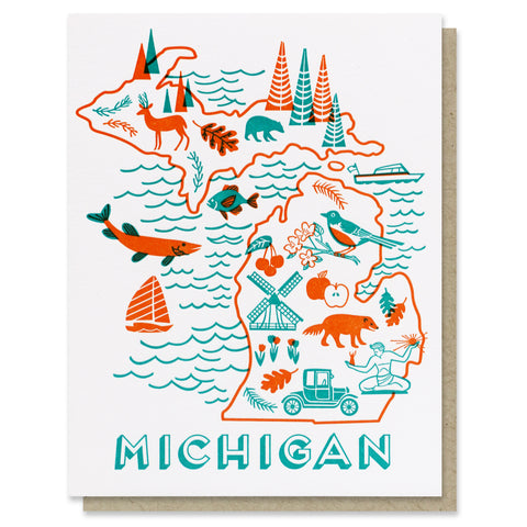 Michigan Love Card