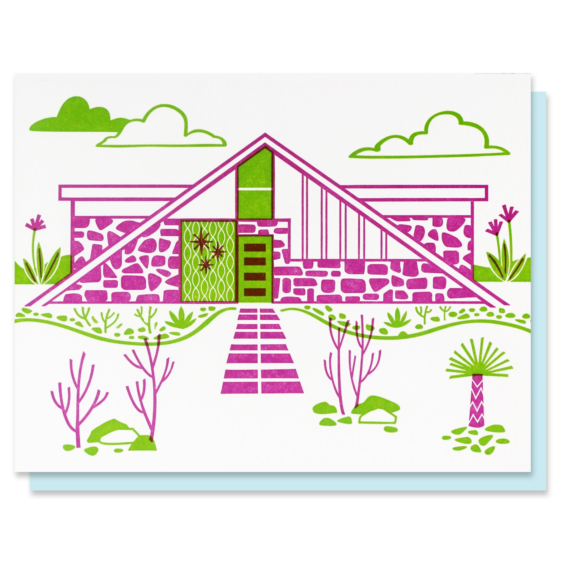 Mid-Century Home I Blank Card - SALE