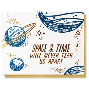Space and Time Card