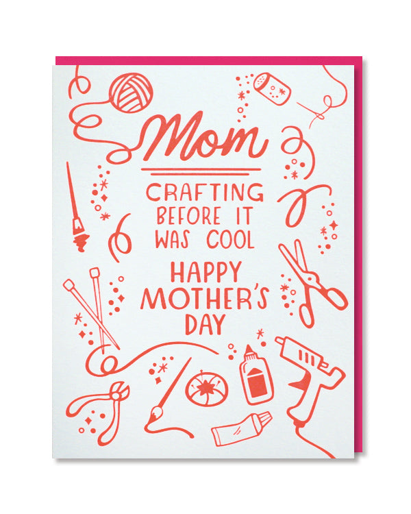 Crafting Cool Mother's Day Card