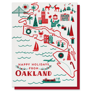 Happy Holidays from Oakland Card