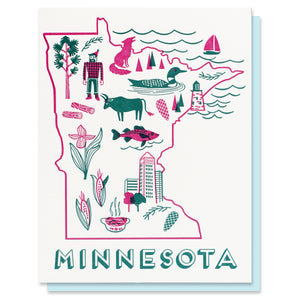 Minnesota Love Card - SALE