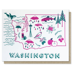 Washington State Love Card
