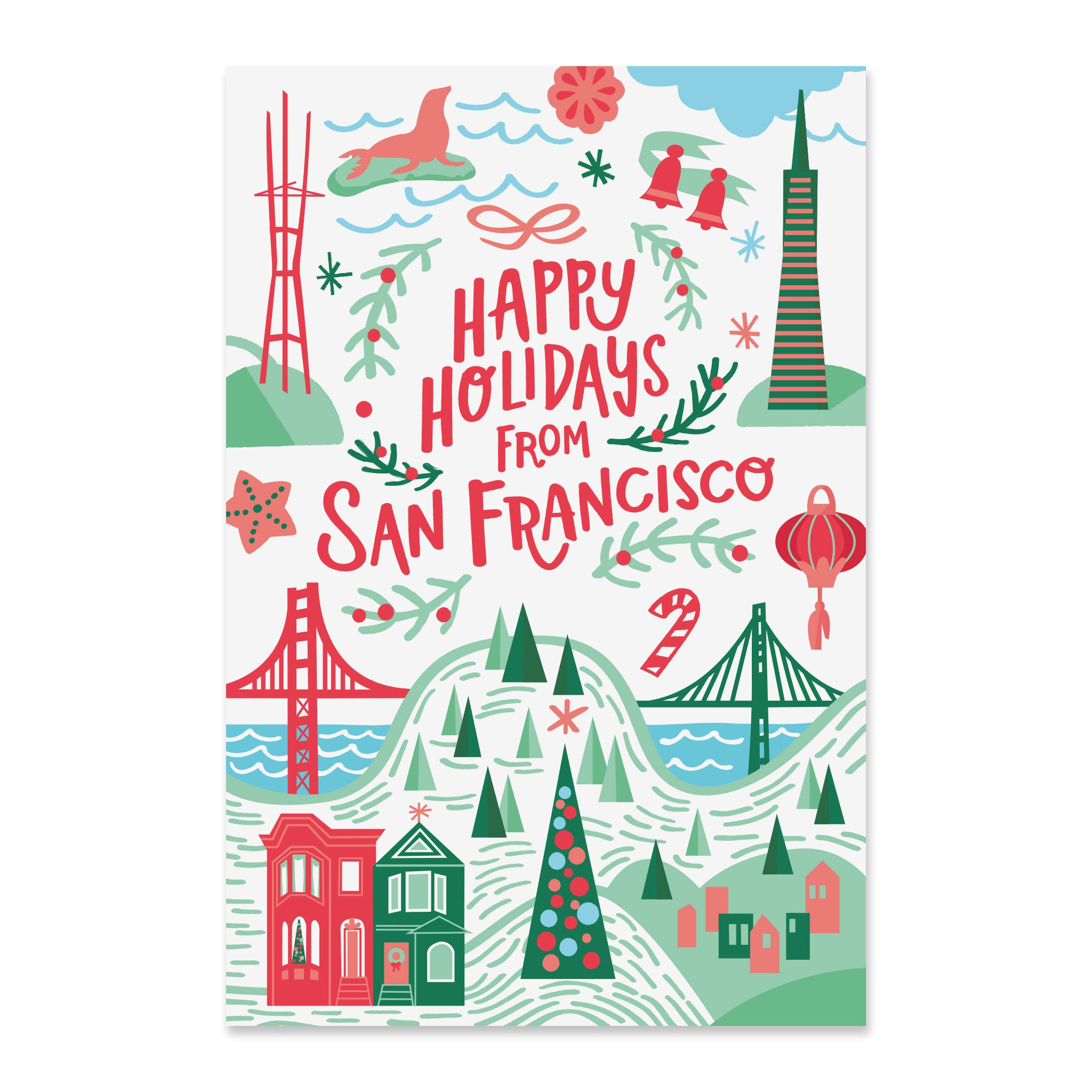 135 San Francisco Postcard Set