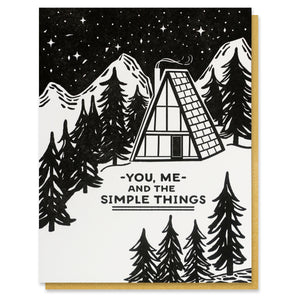 Simple Things Card