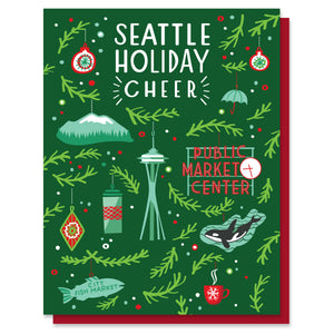 Seattle Ornaments Card
