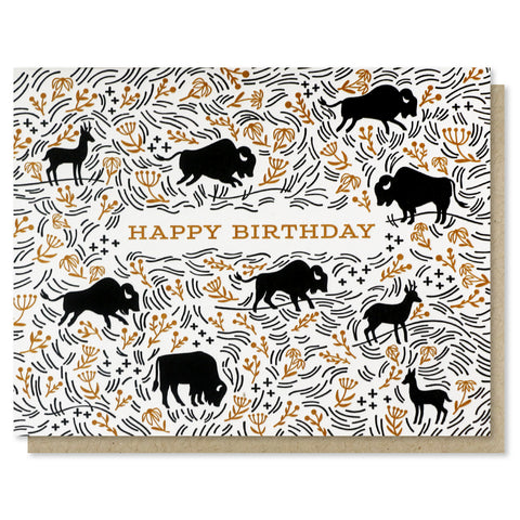 Prairie Birthday Card