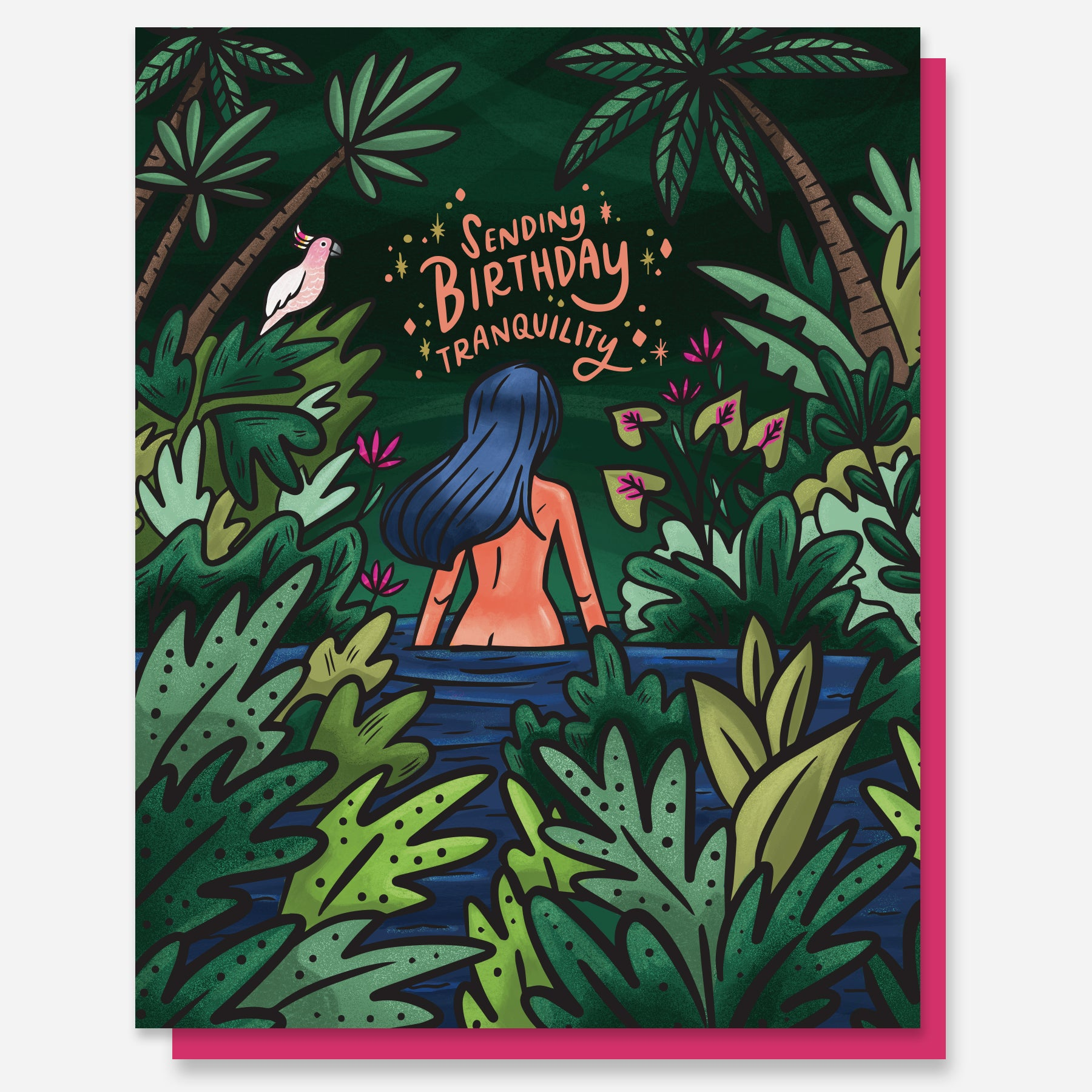 Birthday Tranquility Card